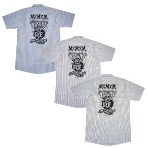 MxMxM マモミ  RAT FINK x MxMxM 〜MAGICAL MOSH RAT FINK〜 WORK SHIRT|steelo