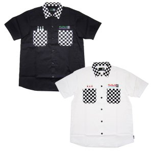 MxMxM マモミ  MxMxM CHECKERS WORK SHIRT|steelo