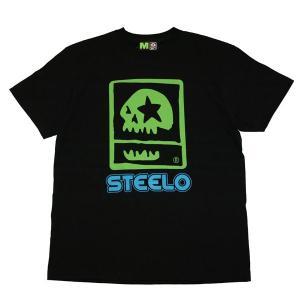 MxMxM マモミ  STEELO x MxMxM FIFTEEN YEARS ANNIVERSARY TEE-BLK/BLU/GR-|steelo