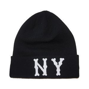 NEW ERA ニューエラ Basic Cuff Knit Team Logo ニューヨーク・ハイランダース|steelo