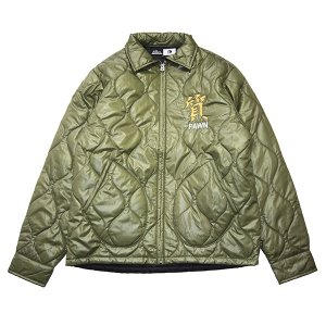 PAWN パーン COFFIN QUILTING JACKET|steelo