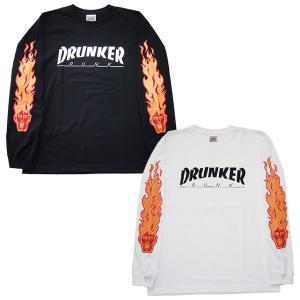 Punk Drunkers パンクドランカーズ  ドランカーロンTEE|steelo