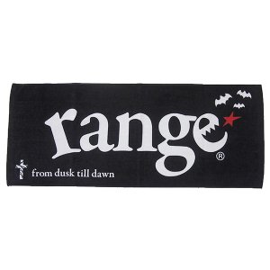 range レンジ range cross&bat towel|steelo