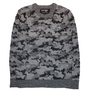 range レンジ CAMO CREW NECK  SWEATER|steelo
