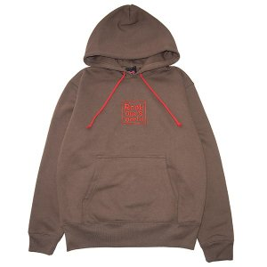 ROCK ONE'S WORLD ロックワンズワールド SQUARE LOGO embroidery HOODIE|steelo