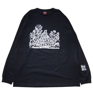ROCK ONE'S WORLD Anomaly SUPPER L/S TEE|steelo