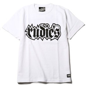 RUDIE'S ルーディーズ SPARK TEE-WH/BK-|steelo