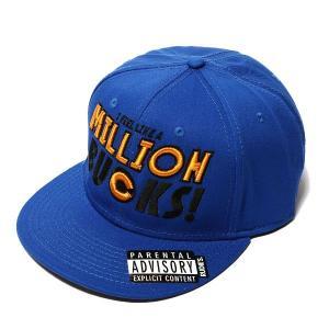 RUDIE'S ルーディーズ MILLION SNAPBACK CAP-BL/OR-|steelo