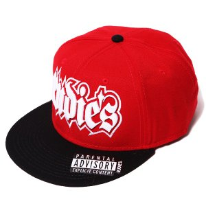 RUDIE'S ルーディーズ SPARK SNAPBACK CAP-RED/BLACK-|steelo