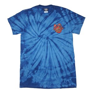 SANTA CRUZ サンタクルーズ SHROOM DOT TEE-SPAIDER ROYAL-|steelo