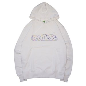 SeedleSs シードレス coop with tie die pull over hoody|steelo