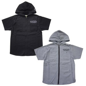 SeedleSs シードレス zip up hoody shirts'17|steelo