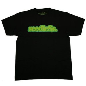 SeedleSs シードレス COOP REGULAR TEE-BLACK-|steelo