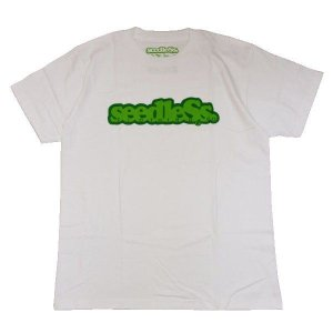 SeedleSs シードレス COOP REGULAR TEE-WHITE-|steelo