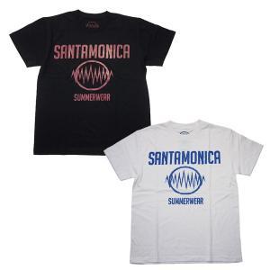 SANTAMONICA SUMMER WEAR サンタモニカ サマー ウェア SMSW logo tee|steelo