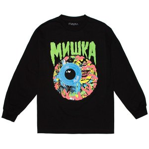 MISHKA ミシカ LAMOUR CHAOS KEEP WATCH L/S TEE|steelo