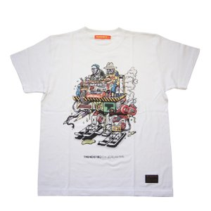 THUNDER BOX サンダーボックス THUNDERBOXXX SCREAMING TEE|steelo