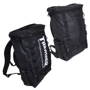 THRASHER スラッシャー  MAG LOGO SQUARE BACK PACK|steelo