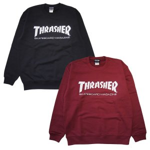 THRASHER スラッシャー MAG LOGO CREW SWEAT|steelo