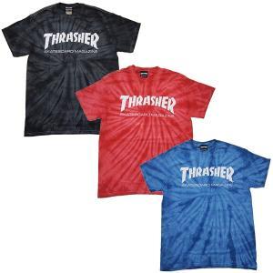 THRASHER スラッシャー STD MAG SPIDER TIE-DYE S/S TEE|steelo