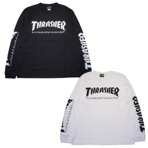 THRASHER スラッシャー MAG SLEEVE L/S TEE|steelo