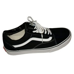 VANS  バンズ OLS SKOOL-BLACK-|steelo