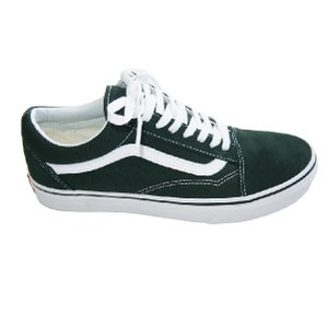 VANS  バンズ OLS SKOOL-SCARAB/TRUE WHITE-|steelo