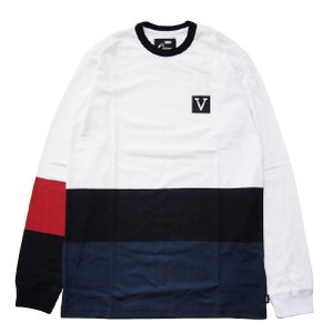 VANS  バンズ CHIMA COLORBLOCK L/S CREW|steelo
