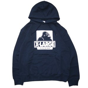 X-LARGE エクストララージ OG PULLOVER HOODED SWEAT|steelo
