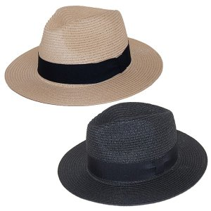 ZEPHYREN ゼファレン  WIDE BRIM PANAMA HAT|steelo