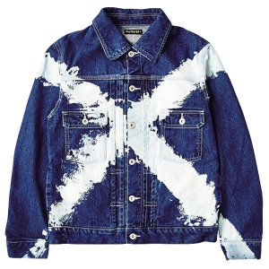 ZEPHYREN ゼファレン DENIM JKT X-WASHxTRUST|steelo