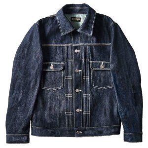 ZEPHYREN ゼファレン DENIM JACKET NON WASH |steelo