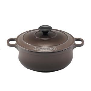 シャスール 炊飯 鍋 2合 トープ コクエル 16cm|stelle