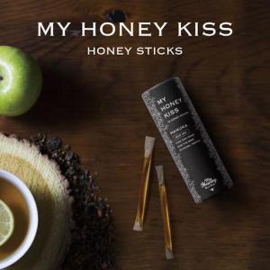 はちみつ ナッツ マイハニー はちみつ マヌカ MY HONEY KISS マヌカハニー マイハニーキッス 蜂蜜 携帯タイプ プレゼント ギフト|stelle