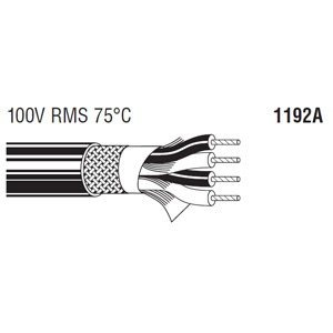 BELDEN 4芯スタークワッドケーブル (6.22mm/24AWG) 1192A 150m step