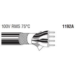 BELDEN 4芯スタークワッドケーブル (6.22mm/24AWG) 1192A 30m step