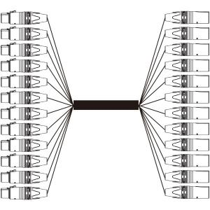 BELDEN 12EC-1912A-B 12chアナログオーディオマルチケーブル  (3m) step