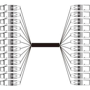BELDEN 12EC-1912A-B 12chアナログオーディオマルチケーブル  (7m) step