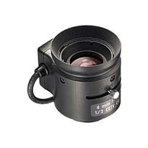 "CCTVレンズ   TAMRON (タムロン)   13FG04IR   焦点距離 4 mm   単焦点  IR   1/3"" CSマウント step"