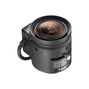 "CCTVレンズ   TAMRON (タムロン)   13FG22IR   焦点距離 2.2 mm   単焦点 超広角    1/3"" CSマウント step"