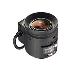 "CCTVレンズ   TAMRON (タムロン)   13FG28IR   焦点距離 2.8 mm   単焦点  IR   1/3"" CSマウント step"