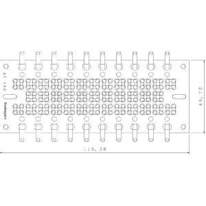 サンハヤト 基板  AT-48D   ラグ端子付きユニバーサル基板 step