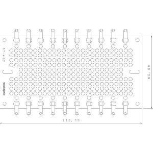 サンハヤト 基板  AT-49C   ラグ端子付きユニバーサル基板 step