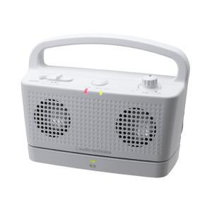 ご高齢者用テレビ音量スピーカー オーディオテクニカ AT-SP767TV ホワイト|step
