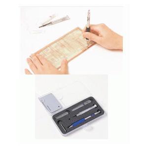 サンハヤト  BBR-5210   スルホール加工用品 スルホール加工が安全・簡単・手早く出来る・1.0mm用キット step