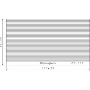 サンハヤト 基板  ICB-066   シール基板 1.0mmピッチエクステンションストレート step