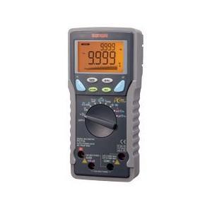 三和電気計器 [サンワ SANWA] PC-710 デジタルマルチメーターTrueRMS対応、温度プループ付|step