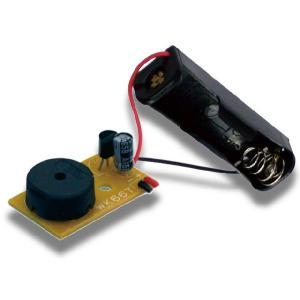 単3電池1本で鳴らすことができるオルゴールキットです。パーツ数が4点と少なく、初心者でも安心して組み...