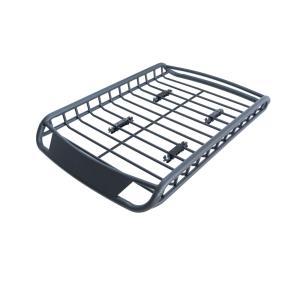 ラックはアルミ製品、マットブラック塗装でカッコいい! アルミ製一体型のルーフラックです。 車内やトラ...