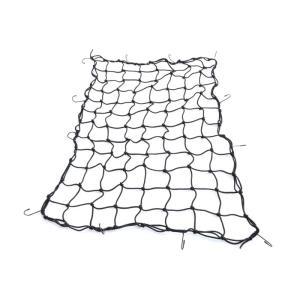 ヒッチキャリアカーゴにおすすめの荷物固定用ネット!  カーゴネットの特徴  網ネットですので荷物の形...